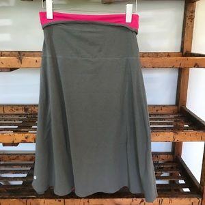 Lululemon Beat the Heat reversible dress/skirt